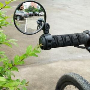 Mountain Bike Rearview Mirror Bicycle Handlebar Convex Rear View Mirror Bar End