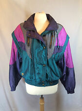 Vintage DESCENTE Women Retro Snow Ski Snowboard Winter Coat Jacket Sz 10