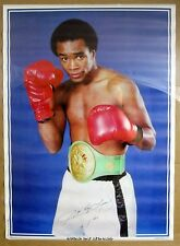 "Vintage Dargis 1980 Sugar Ray Leonard Poster 20x28"" Boxing World Champion Belt"