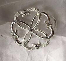 Convertible Bracelet Clasp - 4 Love Sterling Silver 925 w/ Swarovski Elements