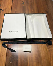 Gucci Empty Gift Box With ** Ribbon ** Tissues And Card