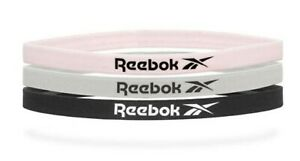 Reebok Unisex Sports Headband Running 3PK Pink Gray Hairband Bands RRAC-18010