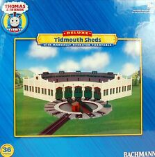 Bachmann HO Scale Train Thomas & Friends Tidmouth Sheds with Turntable 45236