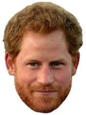 PRINCE HARRY British Royal Family Wedding - Big Head Window Cling DECAL Sticker
