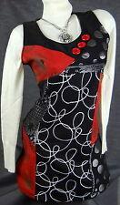Mehrfarbige hüftlange Damen-Pullover & -Strickware aus Baumwolle