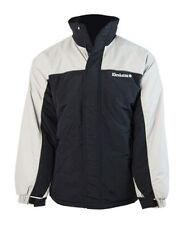 Kkrakatau Fuego Para Hombre Abrigo Chaqueta Snowboard Ski (Negro) - S
