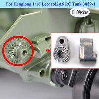 1 Paar Metallspanner Ersatzteile für Henglong 1/16 Leopard2A6 RC Panzer 3889-1