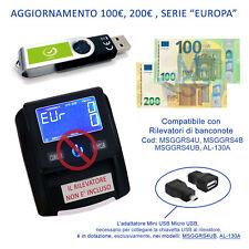Verifica soldi falsi Aggiornamento 100€ 200€ del 2019 Rilevatore banconote false