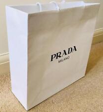 PRADA Carrier Bag Gift Bag Shopping Bag 36x35x12cm New AUTHENTIC