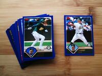 2003 Topps Oakland A's TEAM SET w/ Traded + RB