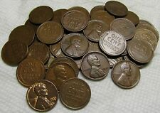 1 ROLL OF 1933 P PHILADELPHIA LINCOLN WHEAT CENTS FROM PENNY COLLECTION