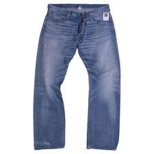 RRL Jeans Size 36 Light Wash Straight Japan Woven Selvedge