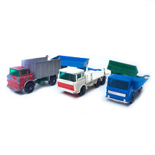 Mixed Lot of 5 LSENEY Vintage Matchbox, Girder Trucks & Trailers