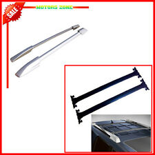 For 08-13 Toyota Highlander OE Style Roof Rail Rack+Crossbar combo 4Pcs Carrier