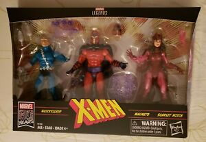 Marvel Legends Xmen Family Matters 3 Pack Magneto, Scarlet Witch, Quicksilver