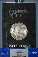 1880-CC Morgan NGC MS64 *CAC-Verified* GSA Hoard, Bright White Silver Dollar!