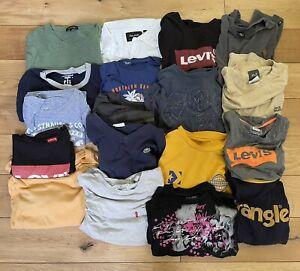 Wholesale Lot Branded T-Shirts Levi's Vans Lacoste Bundle X 18 Resell Depop