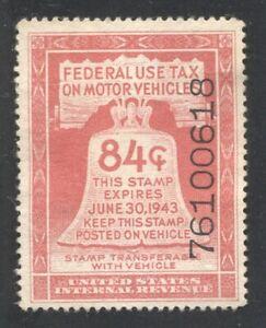 Motor Vehicle Use Tax revenue Scott RV4