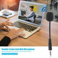 Youn Mini-Mikrofon für PC, Handy, Laptop, 3,5 mm Klinke