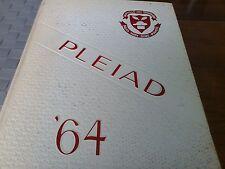 Oakville Trafalgar Yearbook 1963-1964 Halton Ontario Pleiad