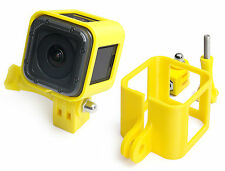 Ultra Light frame + Tripod Mount F. GoPro Hero 4 Session marco trípode Yellow