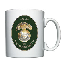 The Royal Munster Fusiliers  -  Personalised Mug