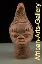 53584   Terrakotta Königskopf der Yoruba Nigeria Afrika