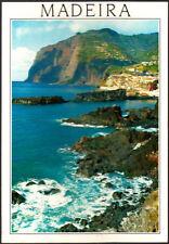 Vintage Used Postcard Portugal, Madeira, Camara De Lobos Stamped