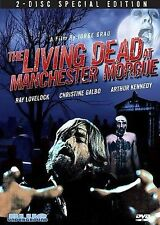 The Living Dead at the Manchester Morgue (DVD, 2008, 2-Disc Set) Zombie Horror