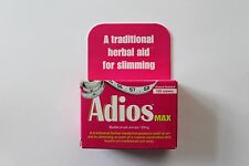 Adios Max A Traditional Herbal Aid For Slimming - 100 Tablets