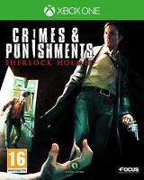 Crimes & Punishments Sherlock Holmes Xbox One **FREE UK POSTAGE!!**