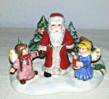 Villeroy & Boch Nostalgic Village Szene Santa mit Lokomotive Christmas Toys OVP