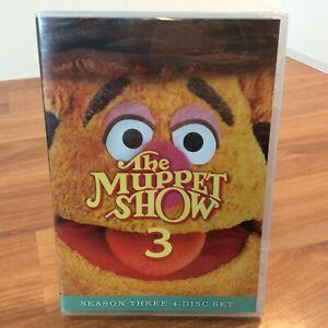 The Muppet Show: Season Three (DVD, 2016, Disney) Sealed