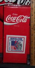 1994 SHILOH NATIONAL MILITARY PARK 100TH ANN 8OZ  GLASS COCA - COLA BOTTLE & BOX
