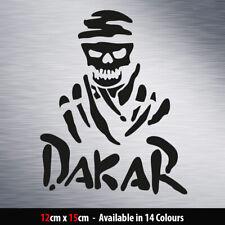 Dakar Skull Vinyl Decal Sticker for Rally Car Van 4x4 Window Bumper