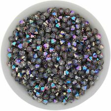 Swarovski Crystal 5328 XILION Bicones 4mm - BLUE SPHINX (24 PCS)