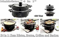 Kitcheware Maronenröster Multiröster Wende Tisch grill platte Crepers Grill B1
