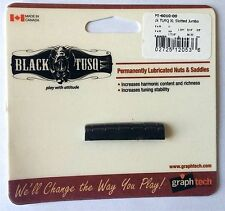 GRAPH TECH BLACK TUSQ XL SLOTTED  GIBSON STYLE NUT PT-6010-00