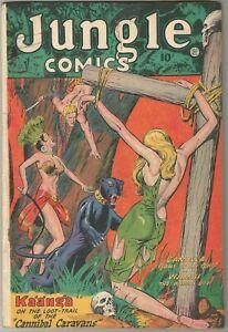Jungle Comics issue 99 (1948) Classic bondage/torture cover by John Celardo!