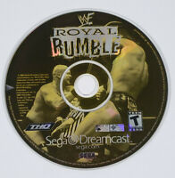 WWF Royal Rumble (Sega Dreamcast, 2000) - Disc Only, Tested