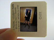 Original Press Photo Slide Negative - CHER - 1990 - U