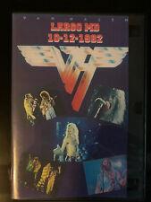 Van Halen At The Cap Center Live Dvd 1982 Double Disc