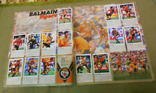 #T311.   1994  BALMAIN  TIGERS  SELECT RUGBY LEAGUE  STICKERS