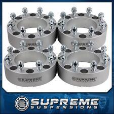 "Wheel Spacer Adapters Kit 00-10 Chevy GM Silverado Sierra 2500HD 3500 HD 4x 2"""