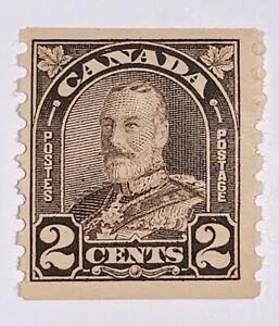 TRAVELSTAMPS: CANADA  SCOTT #182 ARCH LEAF COIL 1930-31 KGV ISSUE MNH OG