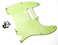 Aged 62 Vintage Pickguard Mint Green 3 Ply Montreux Retrovibe Fits To Tele®