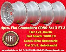 4 Cerchi Fiat Cromodora CD66 8x13 4x98 Wheels Felgen llantas jantes Lancia TUV