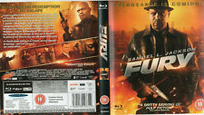 Fury (Blu-ray, 2012) Samuel L Jackson - original    ***new / sealed***