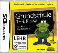 NINTENDO DS 3DS GRUNDSCHULE 1-4 MATHE DEUTSCH ENGLISCH *Neuwertig