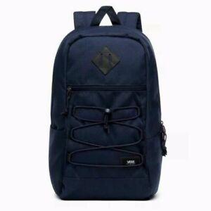 VANS Snag Backpack Laptop Sleeve Navy Blue New